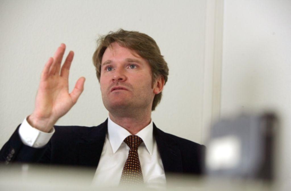 Mit seiner Aufforderung an Peter Conradi, die SPD zu verlassen, erntet Andreas Reißig Widerspruch. Foto: Achim Zweygarth