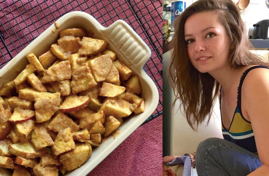 Food-Bloggerin Lisa Schölzel kocht und backt leidenschaftlich gern. Foto: Lisa Schölzel