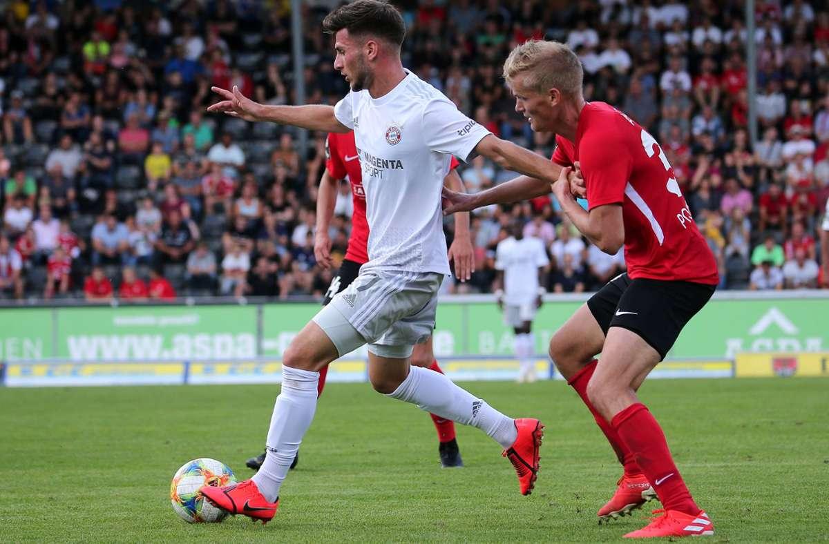 Leon Dajaku wechselt vom FC Bayern München zu Union Berlin. Foto: Pressefoto Baumann/Julia Rahn