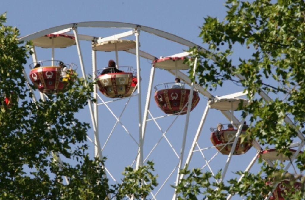 Höhenflüge gibt es im Riesenrad auf dem Festgelände Foto: Patricia Sigerist
