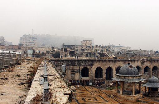 Angriff auf Aleppo geht weiter