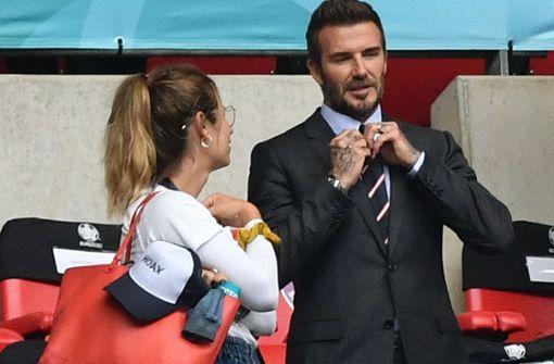 David Beckham, der schicke Genießer