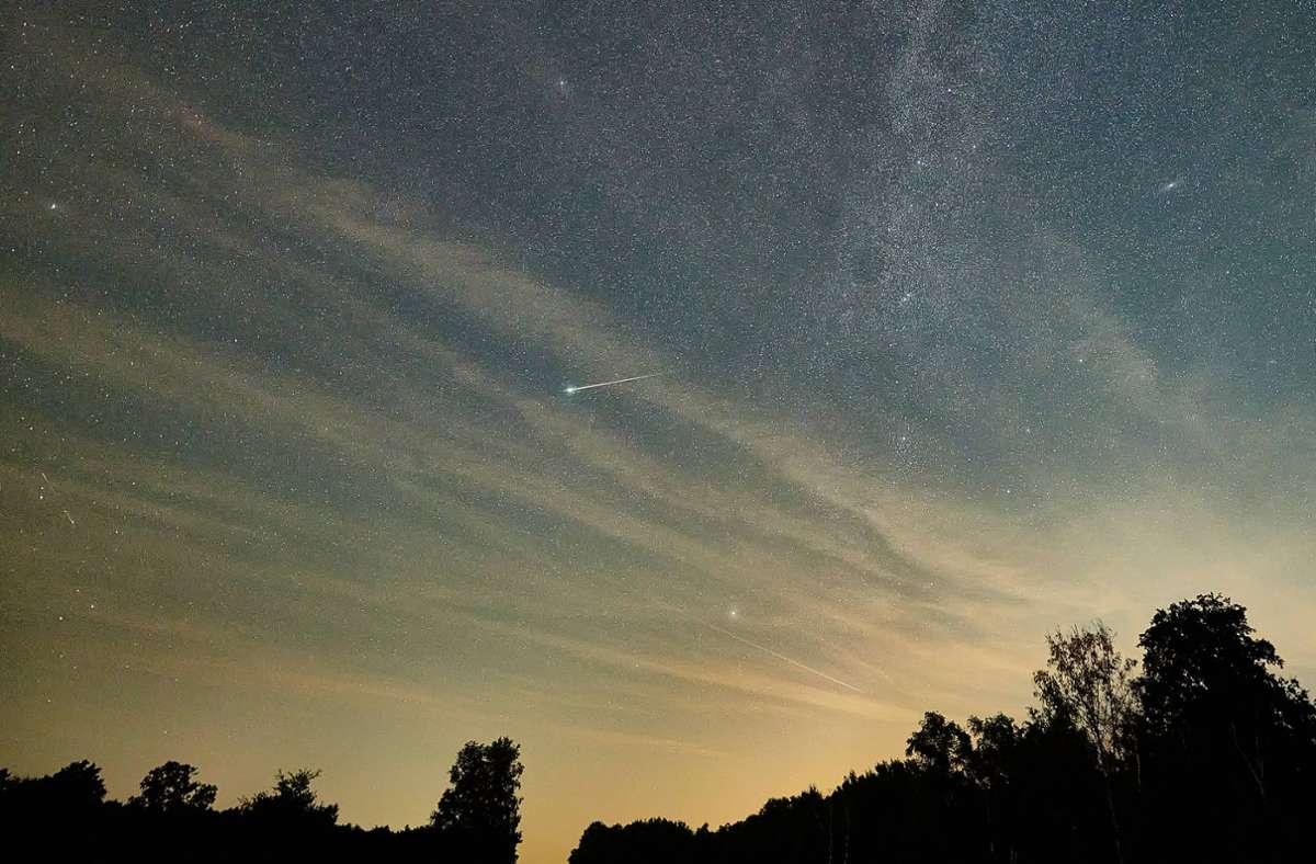 Der Meteorit schlug bereits  in der Nacht zum 5. Januar ein.  (Symbolfoto) Foto: imago images/Ingo Wächter/Ingo Wächter via www.imago-images.de