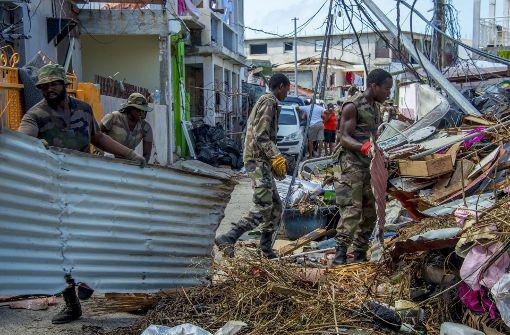 """""""Maria"""" trifft kleine Karibikinsel Dominica mit voller Kraft"""