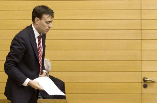 Nils Schmid bringt Haushalt 2012 ein