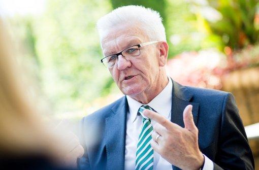 Kretschmann eckt in eigener Partei an