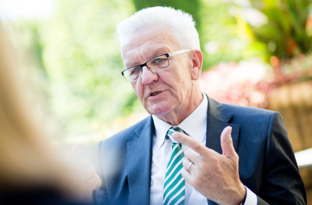 Ministerpräsident Winfried Kretschmann hat sich gegen eine Vermögensteuer ausgesprochen. (Archivfoto) Foto: dpa