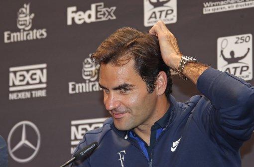 Federer fühlt sich fit für den Rasen