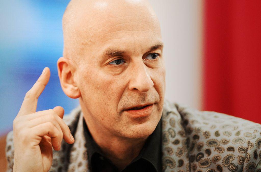 Wenn  es sein muss, geht er in den Kampfmodus: der Theaterregisseur Volker Lösch. Foto: dpa