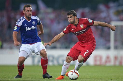 Als Daniel Ginczek den VfB Stuttgart bei Holstein Kiel rettete