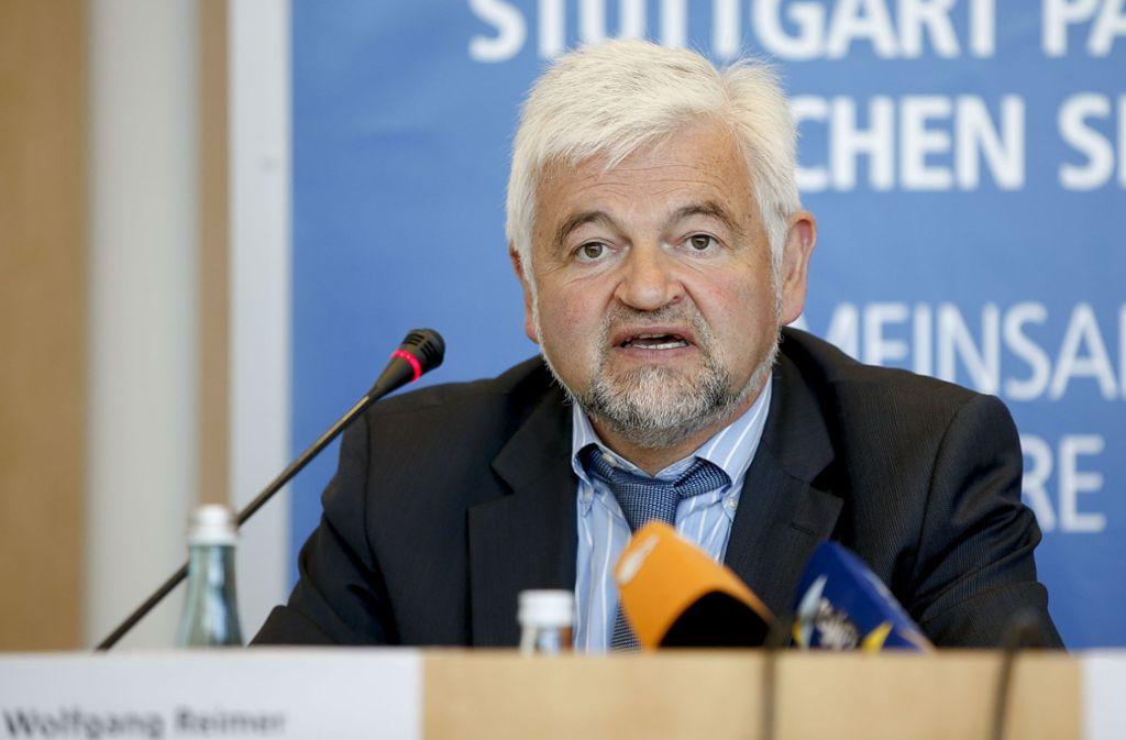 Im Blick der Deutschen Umwelthilfe: Der Stuttgarter Regierungspräsident Wolfgang Reimer. Foto: Lichtgut/Leif Piechowski