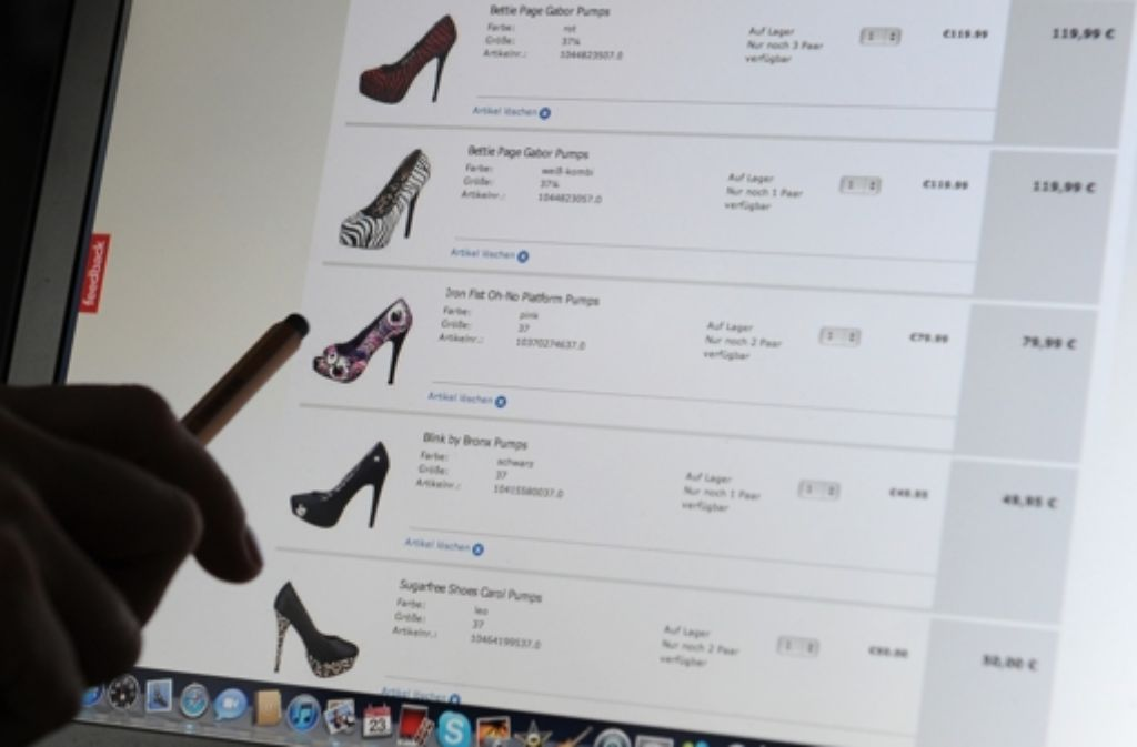 Viele Kunden kaufen im Internet nur noch bei Händlern, die gute Bewertungen aufweisen können. Foto: dpa