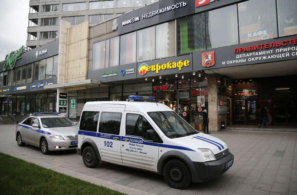 Der Radiosender Echo Moskwy liegt inmitten des Moskauer Stadtzentrums. Foto: AP