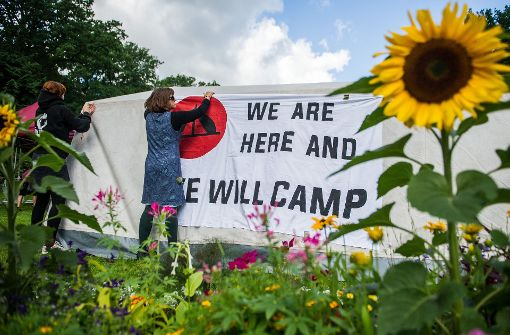 BVG erlaubt Camp stark eingeschränkt