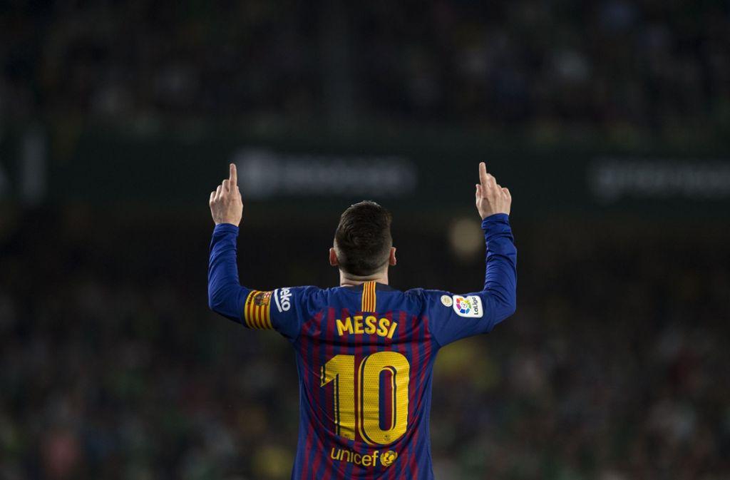 Der Topverdiener des Sports: Lionel Messi Foto: AFP