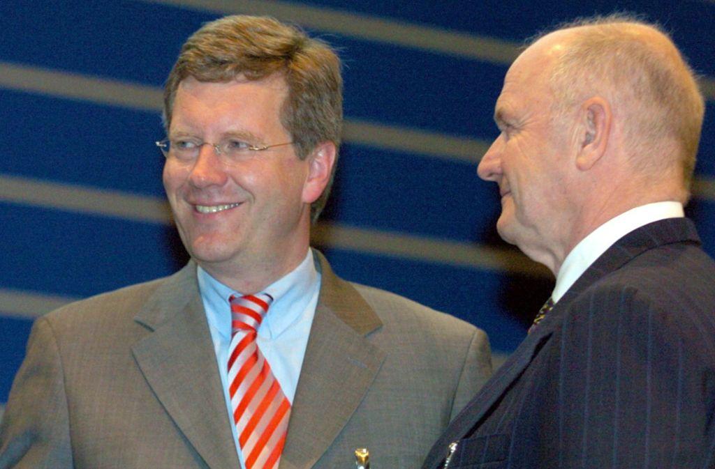 Christian Wulff findet lobende Worte für Ferdinand Piëch. Foto: dpa