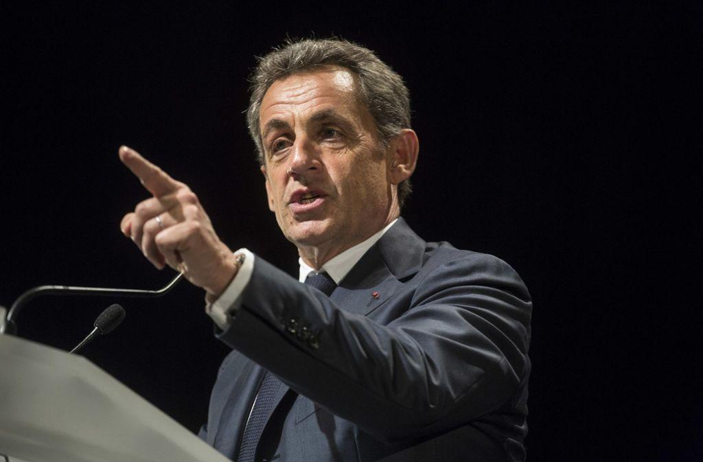 In Frankreich wird spekuliert, ob Nicolas Sarkozy in die französische Politik zurückkehren könnte Foto: AP
