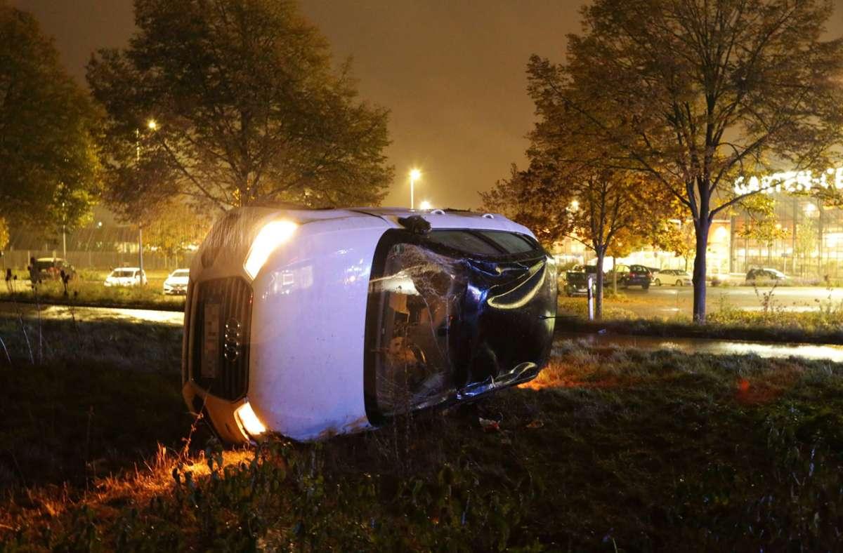 Der Unfall ereignete sich auf der B10 bei Göppingen. Foto: 7aktuell.de/Bernd Fausel