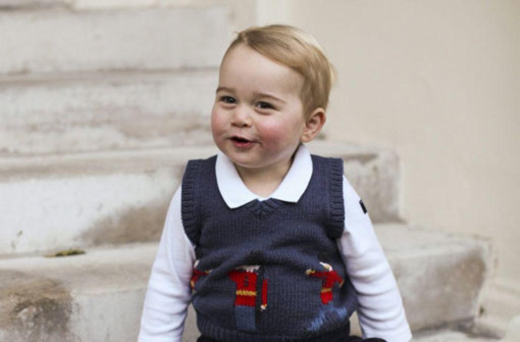 Um kaum ein royales Baby wurde so viel Aufhebens gemacht, wie um ihn: Prinz George ist der erste Sohn von Prinz William und seiner Frau Kate und wird einst auf dem britischen Thron sitzen. Er kam im Juli 2013 zur Welt. Foto: dpa/The Duke and Duchess of Cambridge