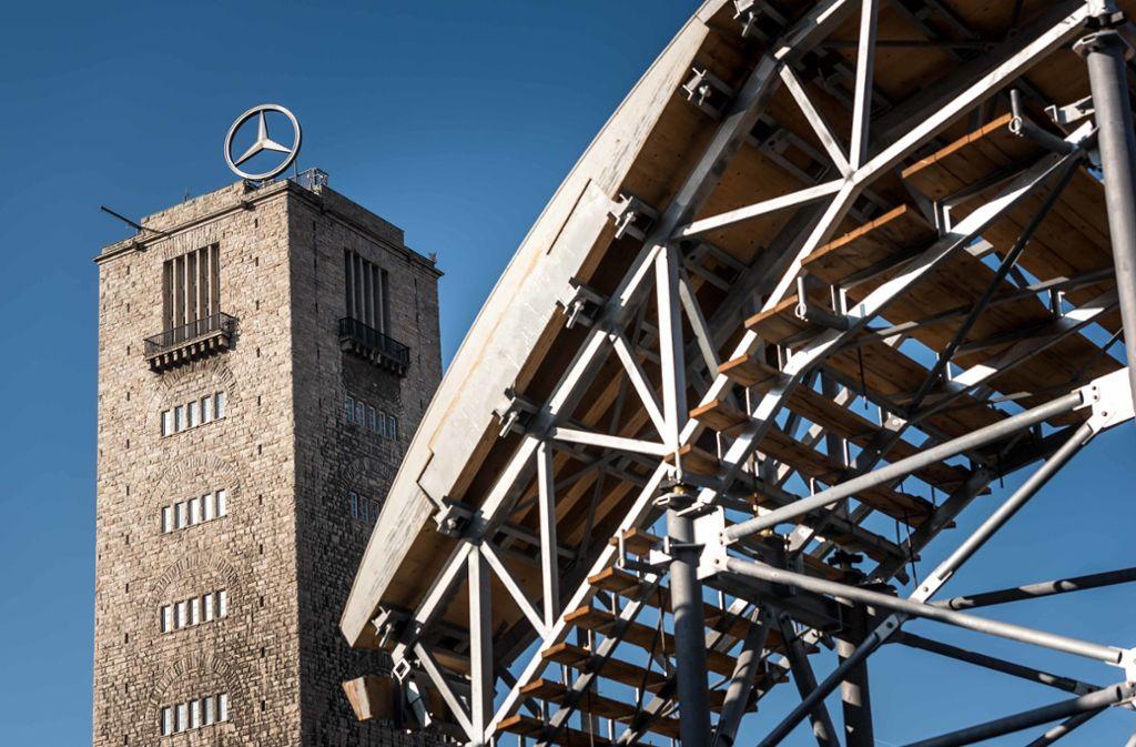 Die Ausstellung im Bahnhofsturm schließt ebenso wie die Aussichtsplattform des Turms. Foto: Lichtgut