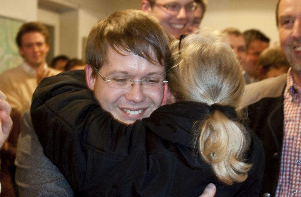 Ferdinand Rentschler bei seiner Wahl 2011 Foto: Pressefoto Horst Rudel