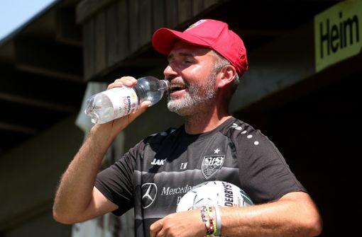 Trainer Tim Walter beim VfB: Lachen, loben, laut sein