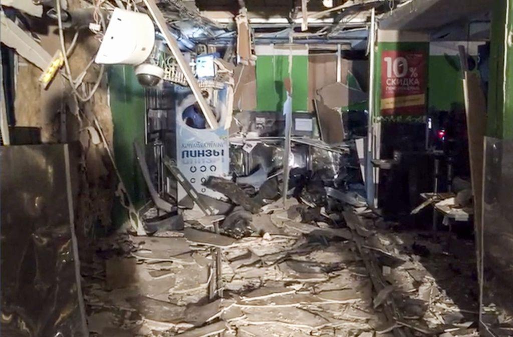 In St. Petersburg ist es am Mittwoch zu einer Bombenexplosion gekommen. Foto: National Antiterrorism Committee