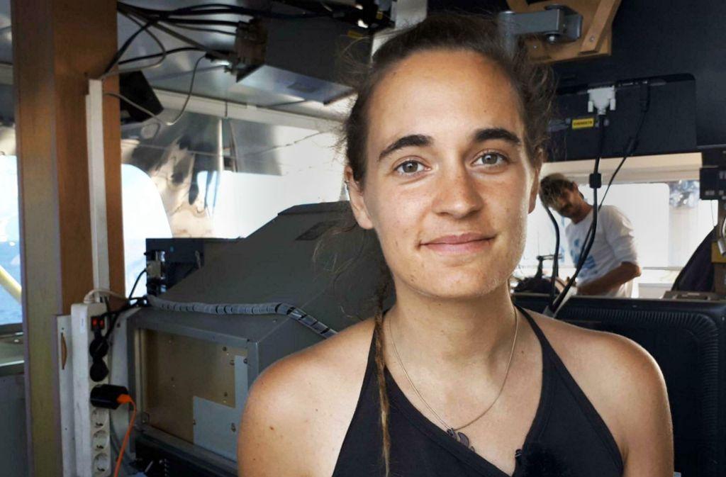 Sea-Watch-Kapitänin  Carola Rackete ist für Italiens Innenminister Matteo Salvini zum Feindbild geworden. Foto: AP