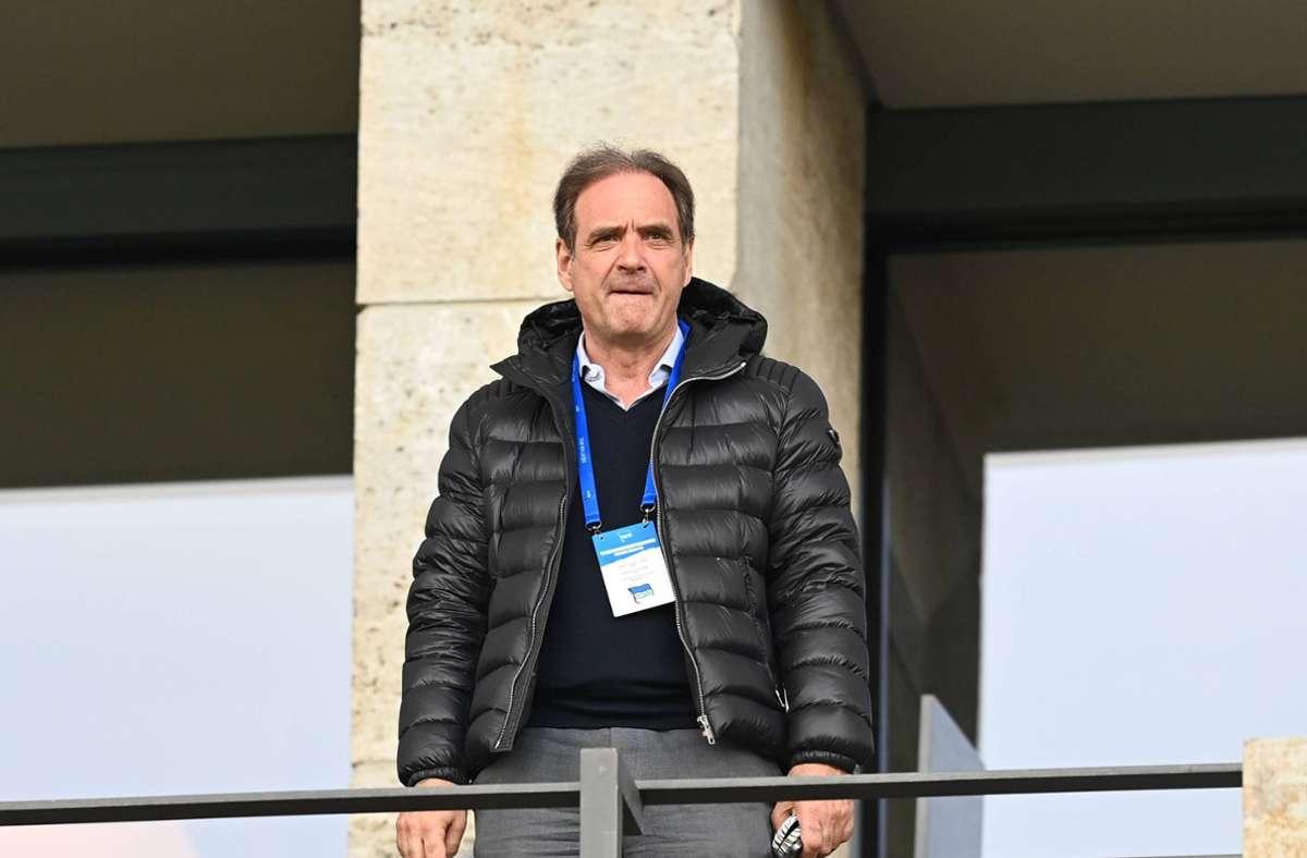Carsten Schmidt verlässt den Fußball-Bundesligisten Hertha BSC Foto: imago images/Matthias Koch/Matthias Koch via www.imago-images.de
