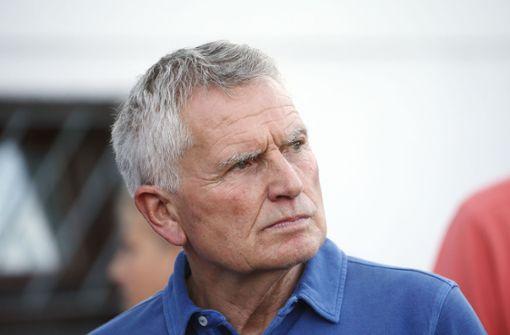 Präsident Wolfgang Dietrich warnt vor seiner Abwahl
