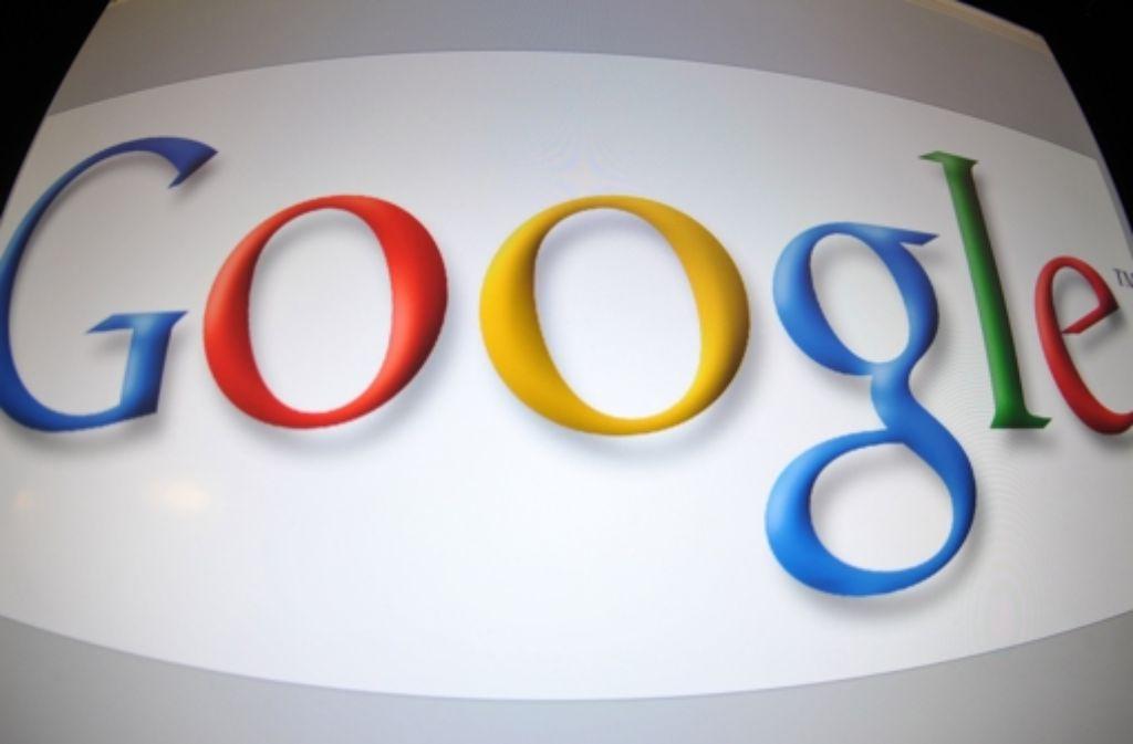 Der US-Suchmaschinengigant Google geht einen Schritt auf die Verlage zu. Foto: AFP