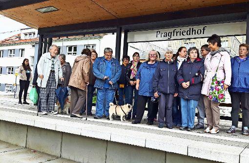 SSB hält am Abriss der Haltestelle Pragfriedhof fest