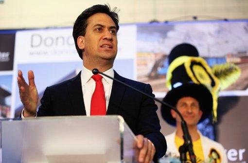 Miliband gesteht Niederlage ein