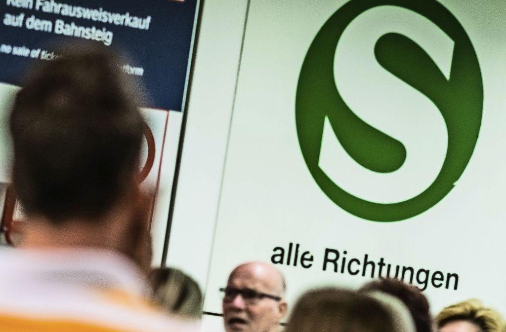 Wieder Ausfälle und Verspätungen: die S-Bahn Stuttgart Foto: Lichtgut/Max Kovalenko