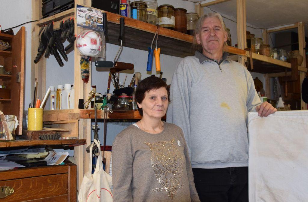 Die Initiative Schellack ist für Inge Will und Ingo Hochmann eine Art Heimat geworden. Foto: Alexandra Kratz