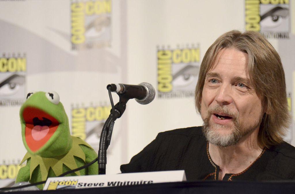 Gehen von nun an getrennte Wege: Kermit der Frosch und sein Sprecher Steve Whitmire Foto: dpa