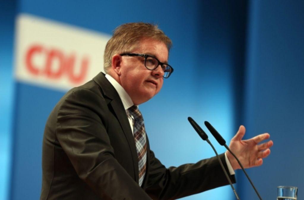 Landtagspräsident Guido Wolf (CDU) Foto: dpa
