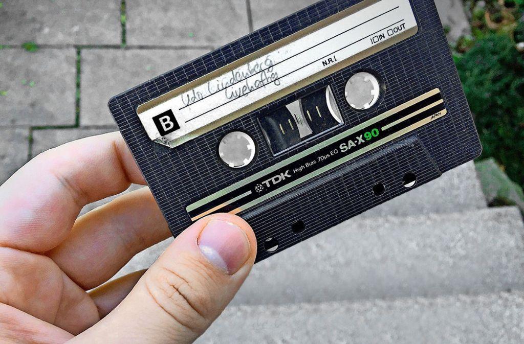 TDK-SA-X 90-Kassette mit Udo. Foto: StZ