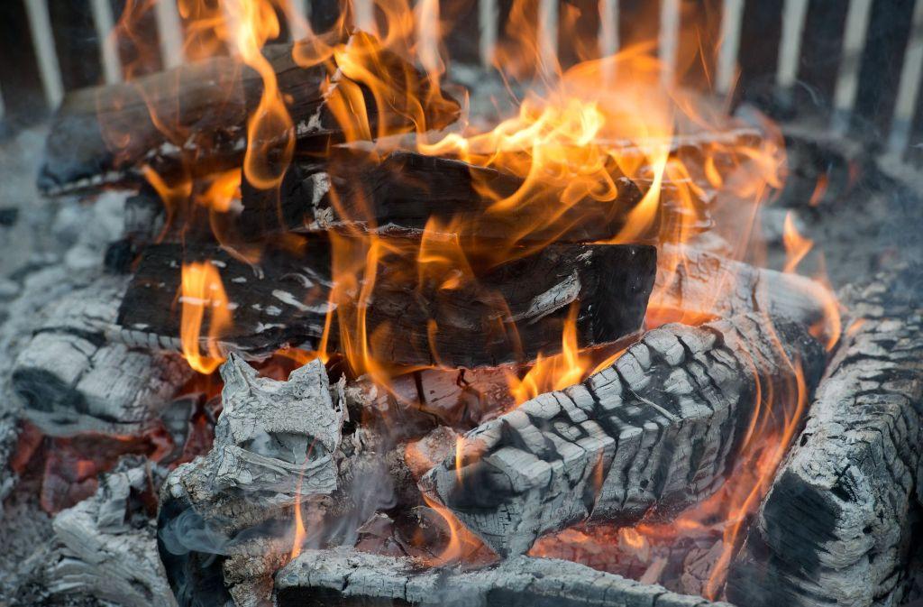 Vier Asylsuchende in Sinsheim wollten sich mit einem Lagerfeuer im Zimmer behelfen. Foto: dpa-Zentralbild