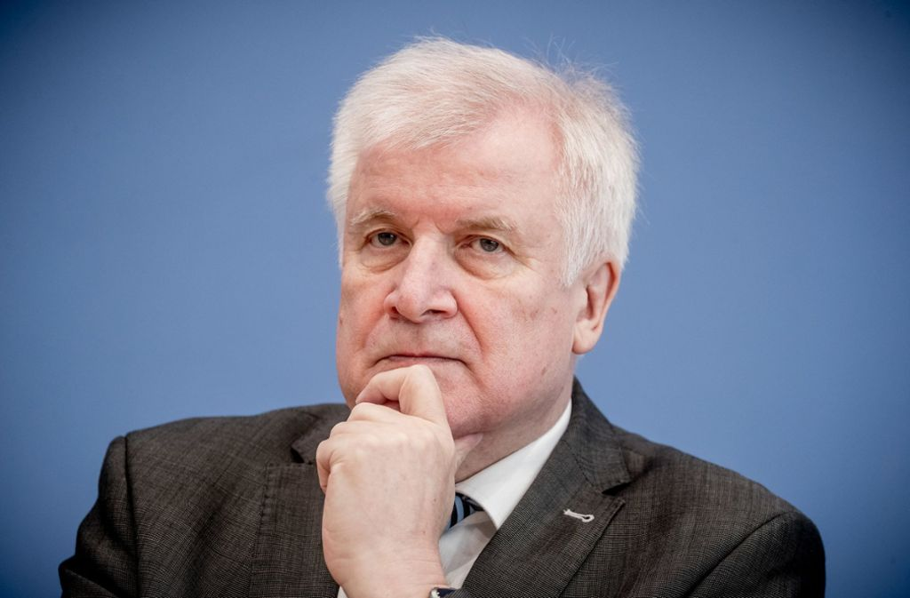 Horst Seehofer (CSU) will nicht in das Bürgerkriegsland Syrien abschieben. Foto: dpa