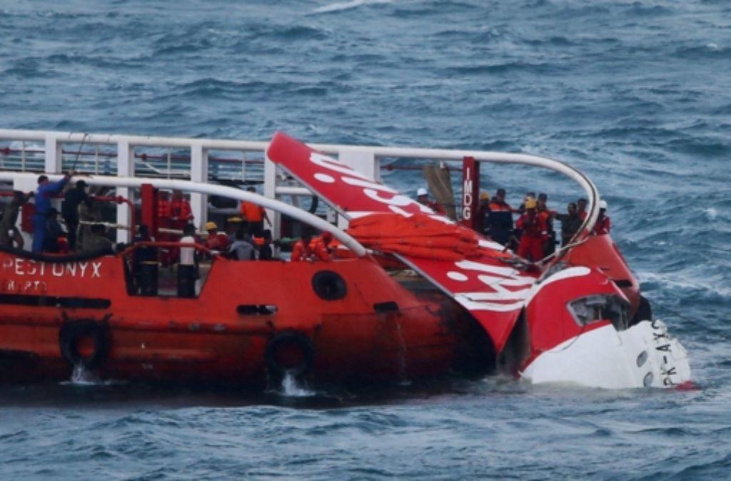 Im Januar hat der Trupp noch Erfolge bei der Suche nach der vermissten AirAsia-Maschine vermelden können. Foto: AFP