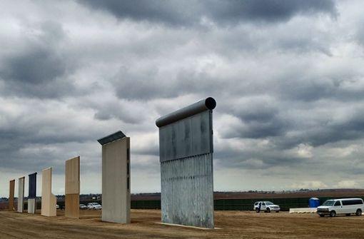 Donald Trumps Mauer zu Mexiko rückt einen Schritt näher