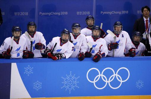 Korea feiert sein vereintes Eishockey-Team – zu Mickie Krause