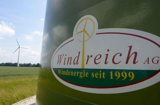 Stuttgarter Richter arbeiten Windreich-Insolvenz auf