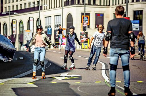 Bürger erleben, wie die  Stadt sich verändert