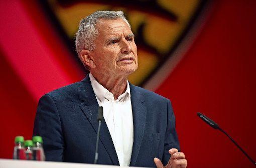 Der VfB-Präsident besucht die Europapokalfreunde