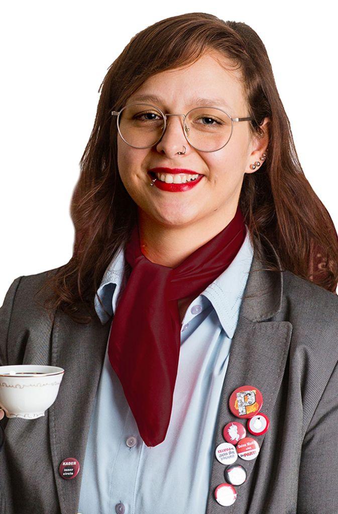 Ina Schumann (Die Partei) Foto: Die Partei