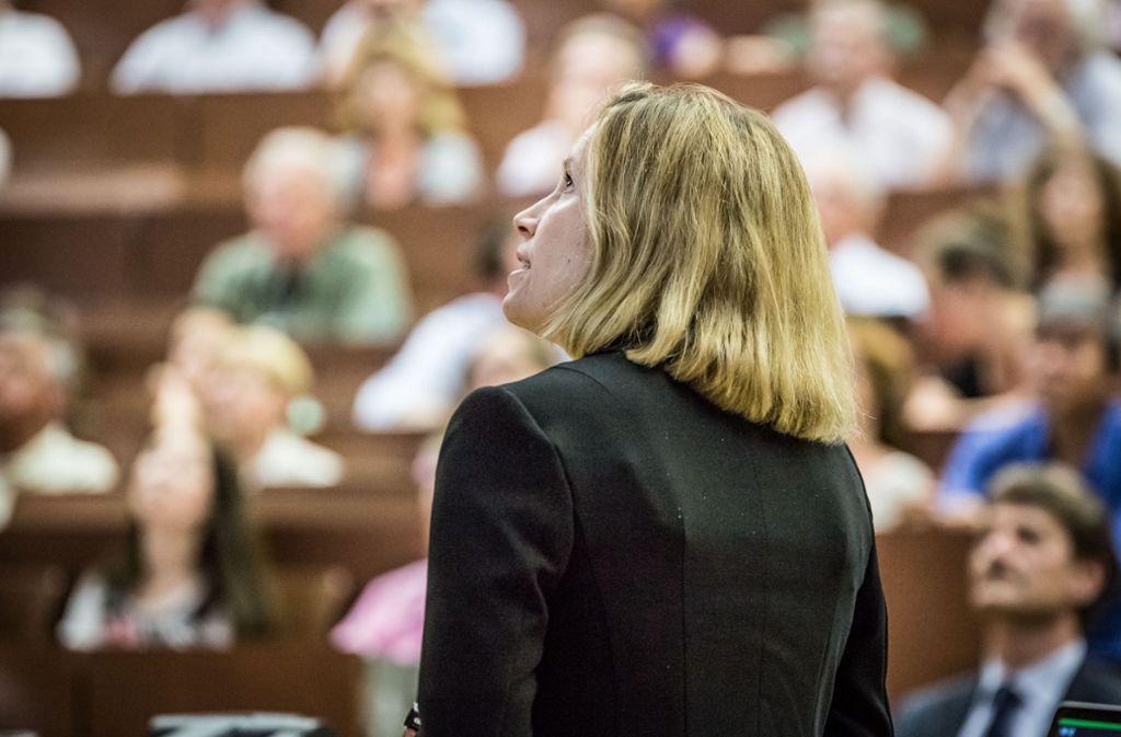 Die Leser-Uni ist eine beliebte Veranstaltung der Stuttgarter Zeitung. Foto: Lichtgut/Julian Rettig