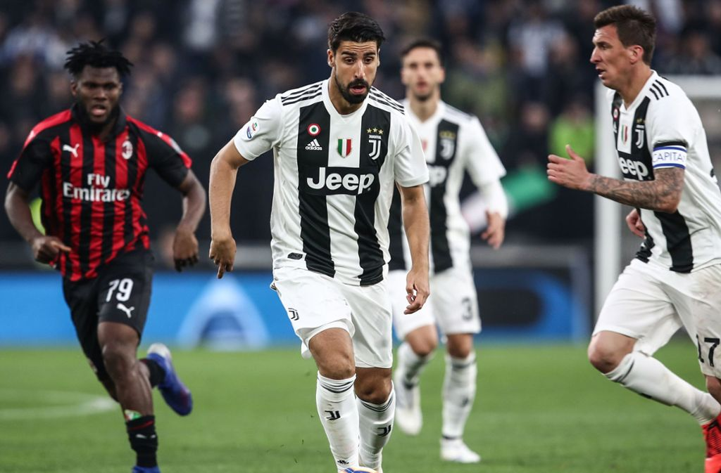 Sami Khedira ist seit 2015 bei Juventus und hat einen Vertrag bis 2021. Foto: AFP