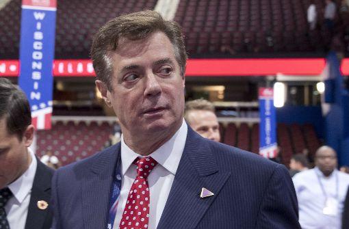 Trumps Ex-Wahlkampfmanager wegen Finanzverbrechen angeklagt